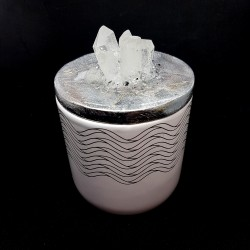 Crystal Cluster Jar