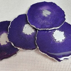 SOLD - Agate geode inspired...